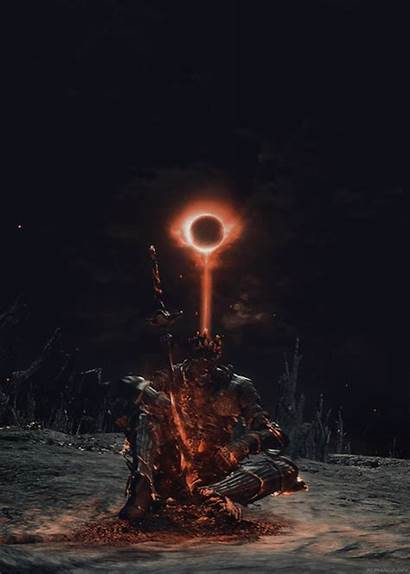 Souls Dark Gifs Cinder Lord Soul Alphagravy