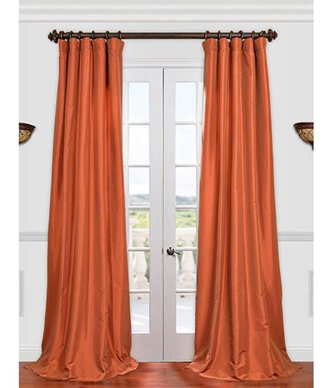 orange silk drapes 104 best curtains and orange images on