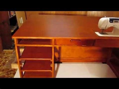 woodwork sewing table plans terry hire  plans