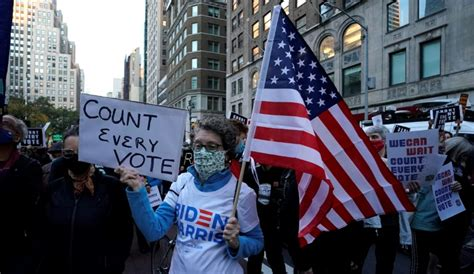 Peaceful protests in New York as tensions rise in Detroit ...