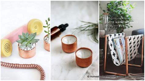 17 Gorgeous Diy Copper Projects That Will Add Elegance To