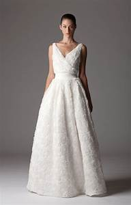 Luxurious v neck wedding dress onewedcom for V neck wedding dress