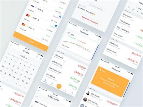 findo  images card transfer cards app design
