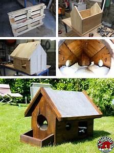 Maison Pour Chat Extérieur : fabriquer niche chat bois ~ Premium-room.com Idées de Décoration