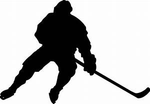 Hockey Player Silhouette - ClipArt Best