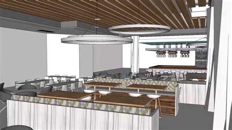 food court design animation youtube