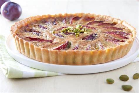 recette de tarte aux prunes et cr 232 me pistache rapide