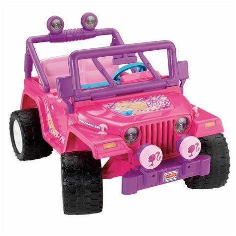 barbie jammin jeep power wheels barbie jammin jeep wrangler pink parts