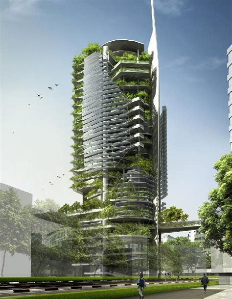 Editt Tower Singapore Terraform Earth
