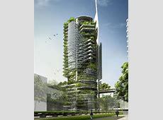 EDITT Tower in Singapore Terraform Earth