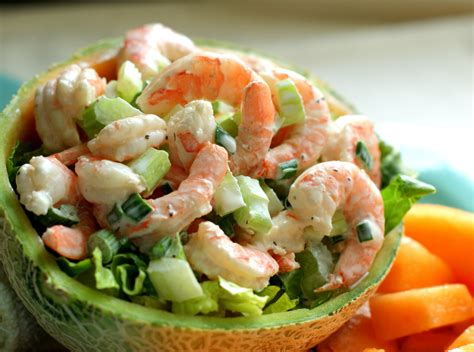 shrimp salad alice and the mock turtle neptune s chest shrimp salad with melon