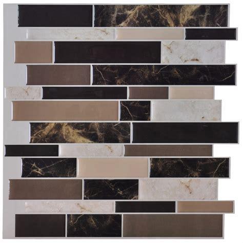 kitchen decals for backsplash 6 tiles peel and stick wall paper vinyl sticker kitchen backsplash tiles 12 quot x 12 quot marble