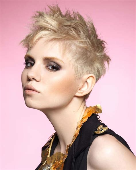 Very Short Hairstyles And Hair Colors For Pixie Short Hair