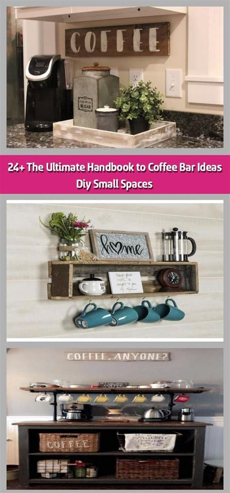 Incredible coffee station ideas for your home 1. 24+ The Ultimate Handbook to Coffee Bar Ideas Diy Small Spaces - Coffee Bar Ideas Diy Small ...