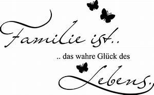 Wandtattoo Sprüche Familie : ich liebe meine familie spr che marketingfinest ~ Frokenaadalensverden.com Haus und Dekorationen