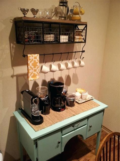 diy coffee bar ideas   home  coffee enthusiast