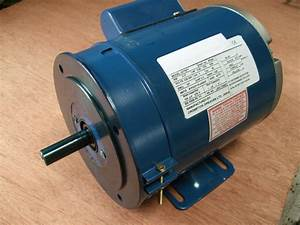 Meddings  Fobco Drill Motor  Newman  1ph  16mm 5  8 U0026quot   Shaft