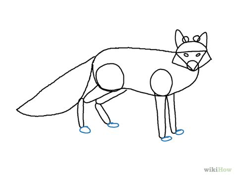 How To Draw A Boat Using Figure 8 by Draw A Fox Step 7 Version 2 Jpg