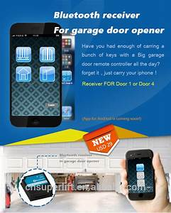 Chain Driving Rail Garage Door Openers For Automatic