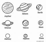 Planets Planet Coloring Pages Solar System Drawing Printable Space Sheets Cool2bkids Child Moons Scale Collection Relative Outline Print Templates Drawings sketch template