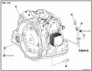 Nissan Sentra Service Manual  Unit Removal And