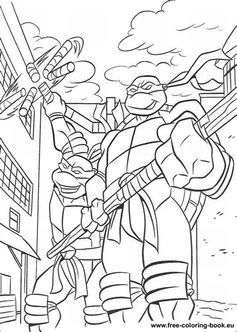 coloring pages teenage mutant ninja turtles tmnt page  printable coloring pages