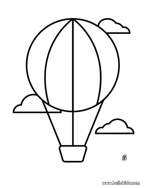 simple drawing for using shapes balloon designs