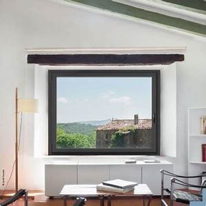 Fenetre 1 Vantail : fen tre alu technal sol al minimal 1 vantail ~ Melissatoandfro.com Idées de Décoration