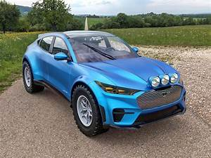 Off-Road Mustang Mach-E GT Looks Ready To Rumble