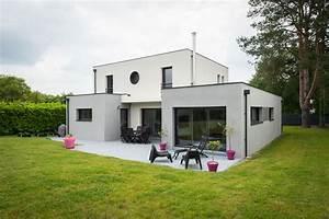 Maison Moderne Toit Plat : constructeur maison moderne toit plat ryl99 slabtownrib ~ Nature-et-papiers.com Idées de Décoration