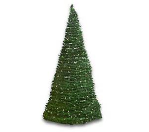 Qvc Christmas Trees Prelit by Indoor Outdoor 6 Pre Lit Pull Up Christmas Tree H47681
