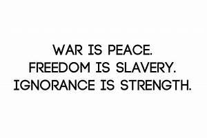 1984 george orw... Devolution Of Society Quotes
