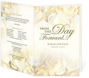 simple wedding programs templates 17 best images about wedding programs design templates on