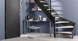 Bureau Sous Escalier : bureau sous escalier notre guide pour l 39 am nager marie ~ Farleysfitness.com Idées de Décoration