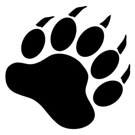 Free Bear Paw Stencil, Download Free Clip Art, Free Clip