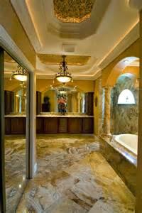 Tuscan Master Bathroom Designs