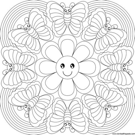 Hard Butterfly Coloring Pages Lifestyle Intech