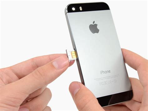 how to insert sim card in iphone 5 iphone 5s sim card replacement