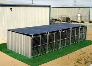 heavy duty 5 run dog kennel 539x1039x639 3 covered sides roof With covered dog kennels runs