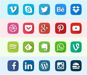 51+ Absolutely Free Social Media Icons Sets