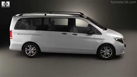 mercedes select mercedes vito tourer select l2 w447 2014 by 3d model store humster3d
