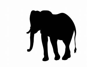 Elephant Clipart Silhouette Free Stock Photo - Public ...