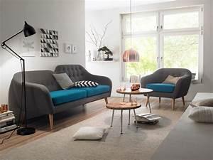 15 canapes au style retro pour parfaire la deco de votre salon With canapé retro design