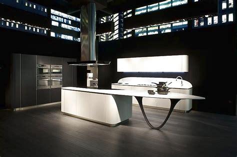 future kitchen design l k 252 che mit insel schwarz wei 223 1144