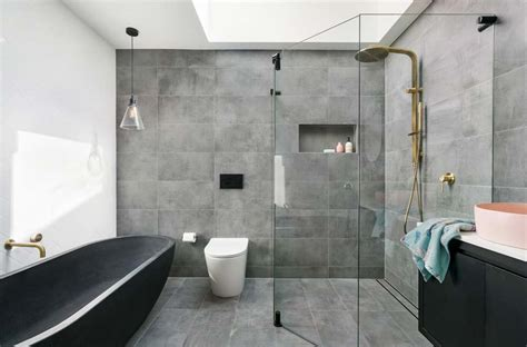 playful modern bathroom design   place blog
