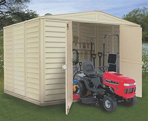 vinyl shed reviews cheap woodbridge 10 x 8 vinyl storage shed non