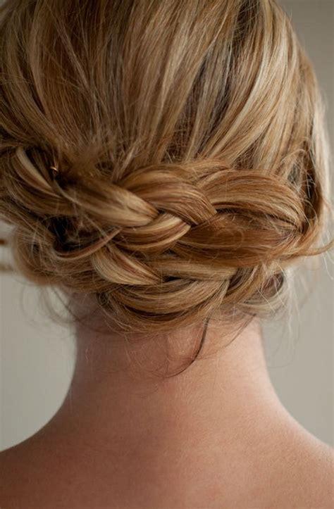 romantic  braided updo  summer hairstyles weekly