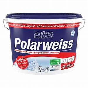 Schöner Wohnen Polarweiss : sch ner wohnen wandfarbe polarwei 10 mehr inhalt wei ~ Watch28wear.com Haus und Dekorationen