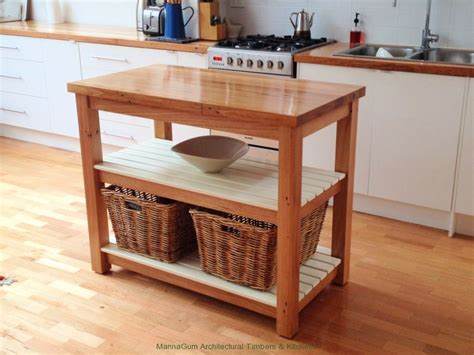 mannagum australian recycled timber benchtops  tables