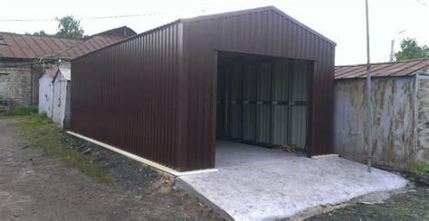 Типовые гаражи из ЛМК